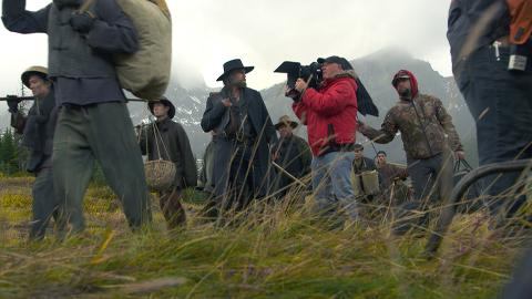 The cast and crew of Hell on Wheels describe how the landscape of California in Episode 413 was created.