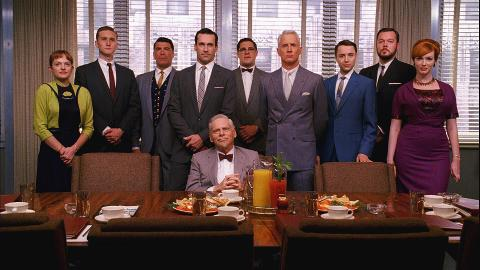 Don't miss the final episodes of Mad Men, returning April 5th. Only on AMC.
