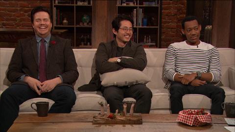 Steven Yeun, Tyler James Williams, and Josh McDermitt answer fan questions.
