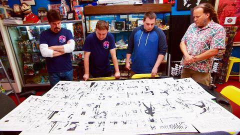 Rob Bruce helps the Comic Book Men investigate a mysterious reproduction of a Superman comic.