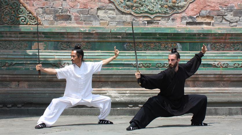 Con el Maestro Yuan Xiugang