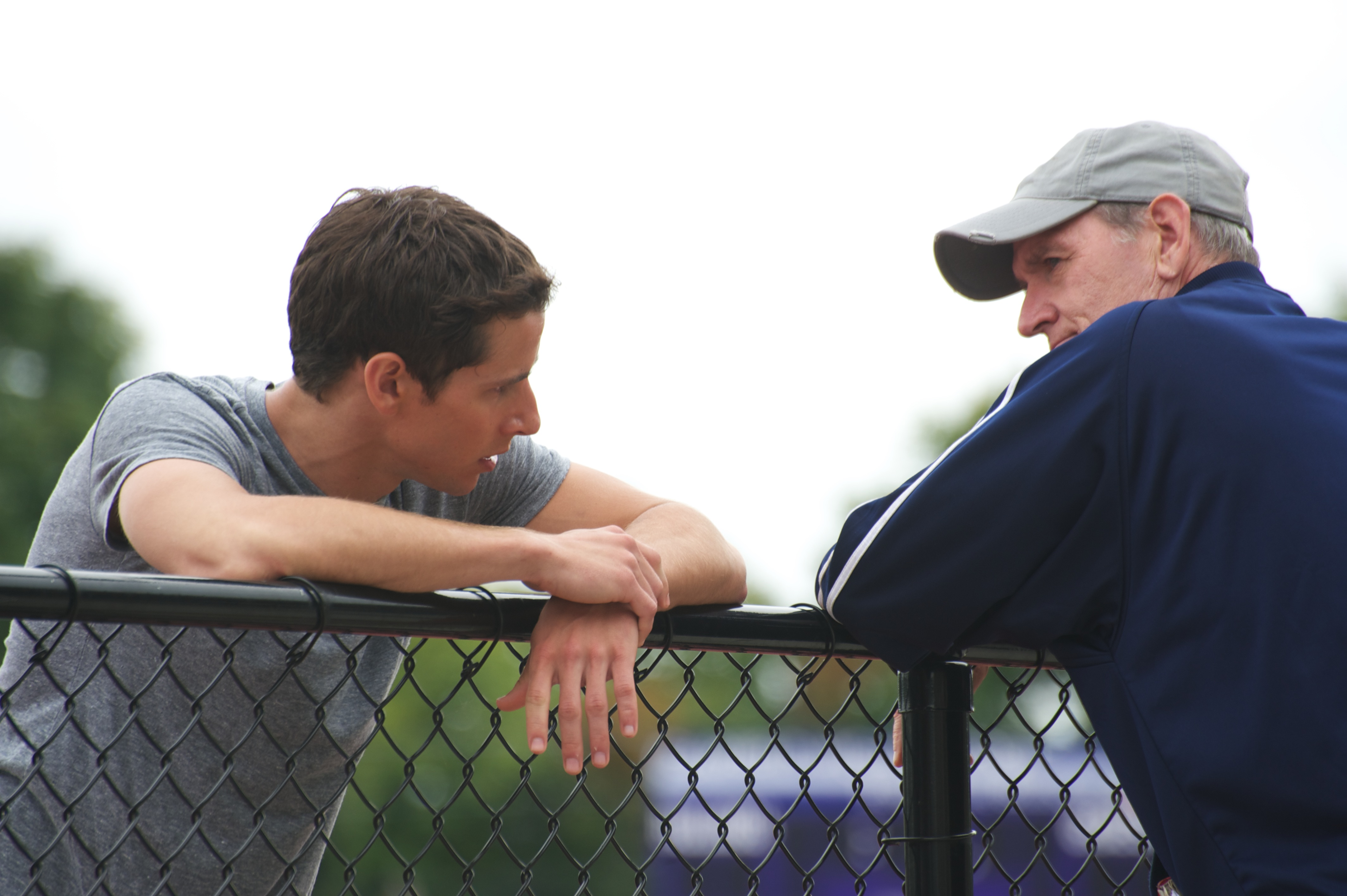 Kelly Blatz & Richard Jenkins at the Fence