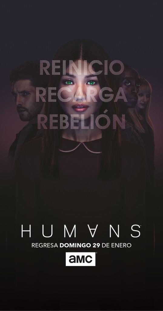 AMC Humans TV Latina