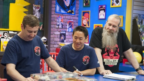 Comic Book Men action figures