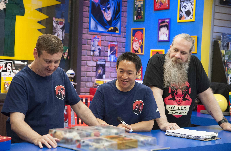 Comic Book Men action figures