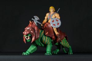 He-Man y battlecat