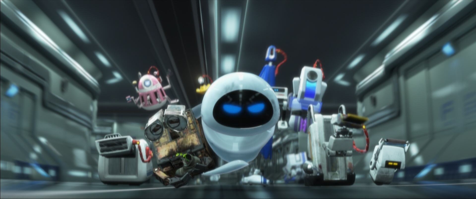 Image result for wall-e rogue robots