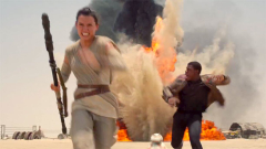 What is Going on with John Boyega in the 'Star Wars' Teaser?
