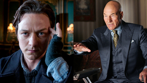 James McAvoy Shaves Head for 'X-Men: Apocalypse'