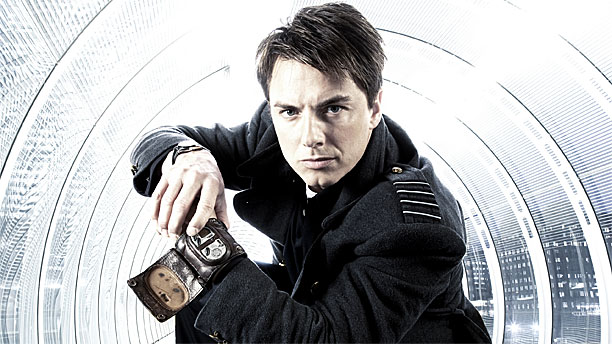 John Barrowman as Captain Jack Harkness (Pic: BBC)