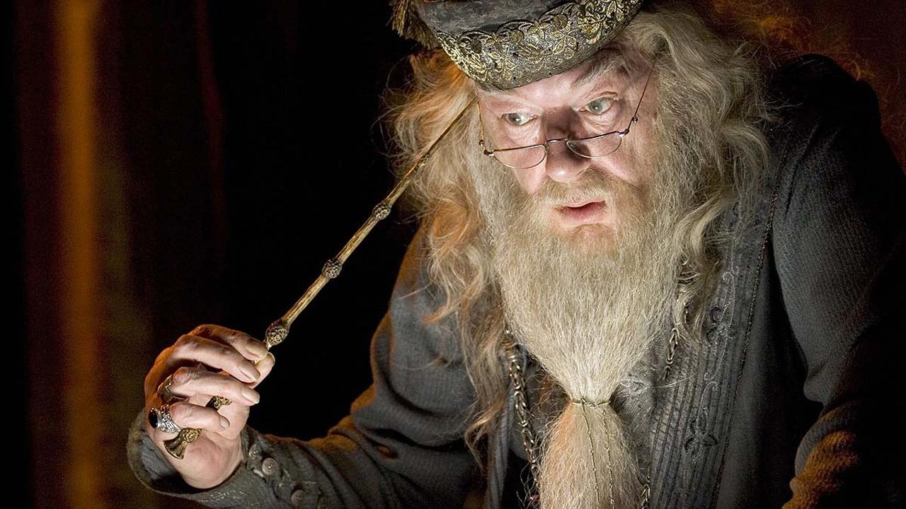 Albus Dumbledore's mind has been blown. (Pic: Warner Bros)