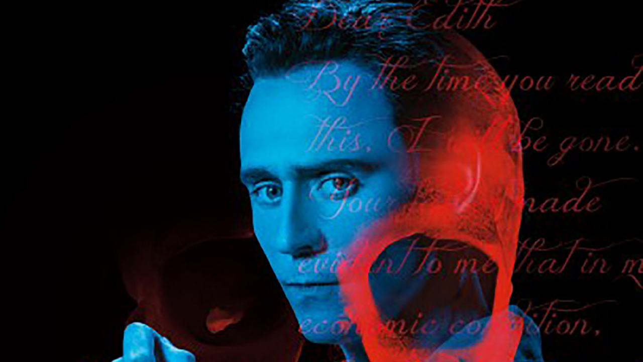 Tom Hiddleston in 'Crimson Peak' Comic-Con Poster