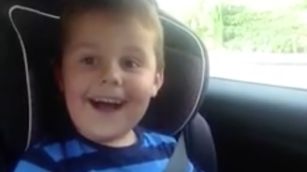 British Boy Excited to Be Big Brother