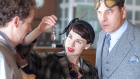 Jessica Raine and David Walliams star as Tuppence and Tommy Beresford in Agatha Christie's 'Partners in Crime.' (Acorn TV)