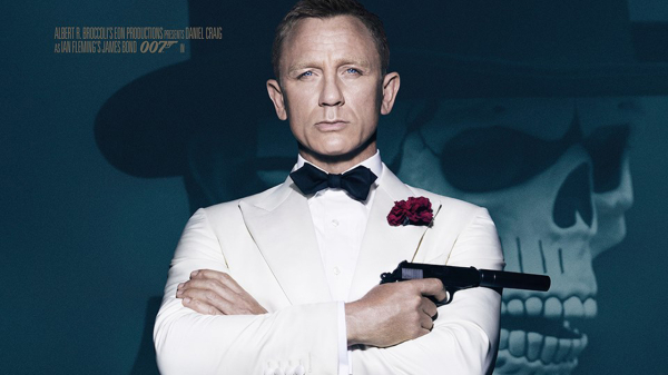 Daniel Craig Glowers in New 'Spectre' Poster