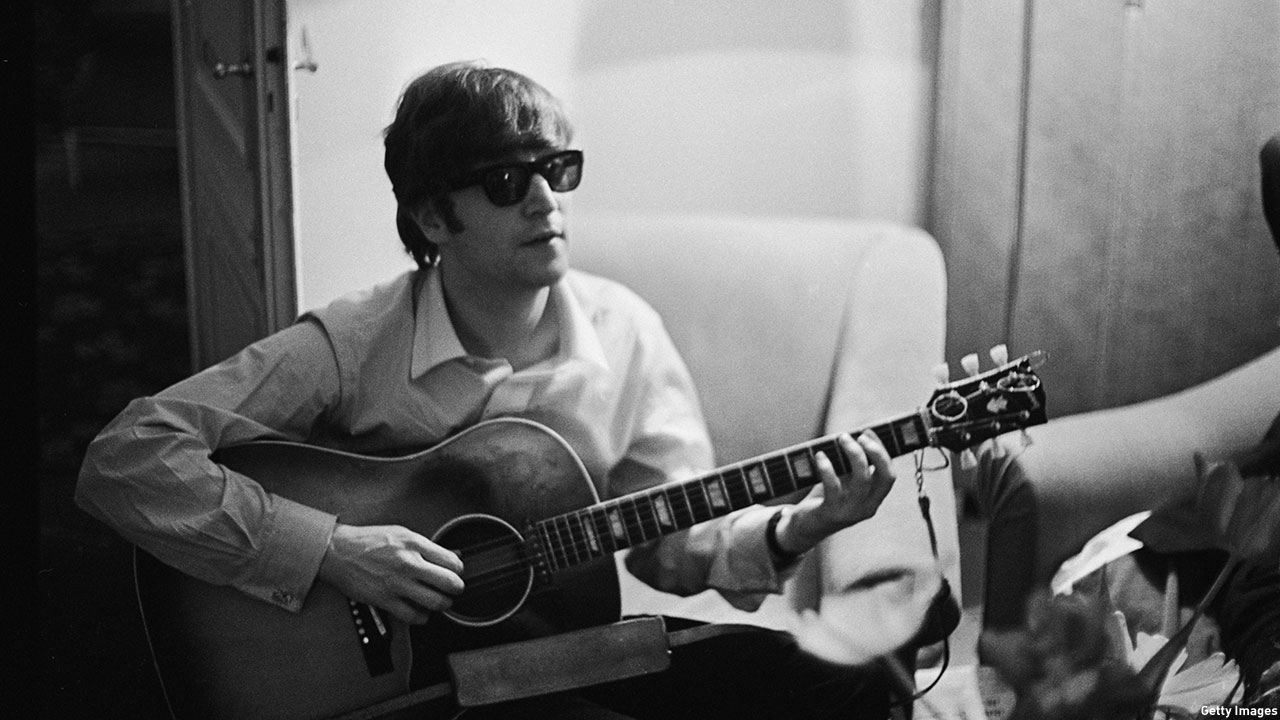 John Lennon on January 16, 1964. (Photo: Harry Benson/Express/Hulton Archive/Getty Images)