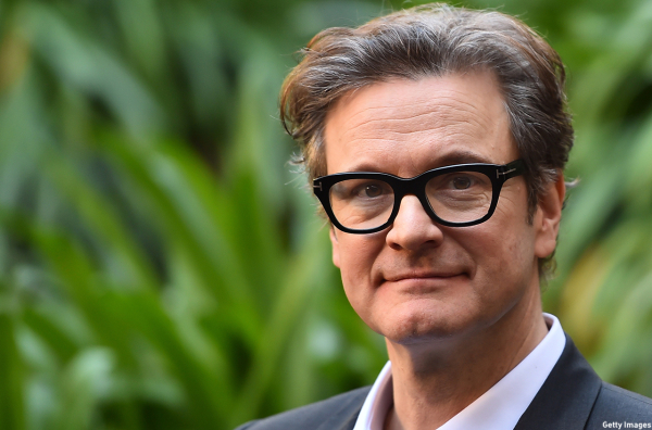 Colin Firth Is on Set for 'Bridget Jones's Baby'