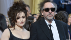Helena Bonham Carter and Tim Burton uncoupled after a 13-year relationship. (Getty Images)
