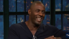 Idris Elba swings by 'Late Night with Seth Meyers.' (YouTube)