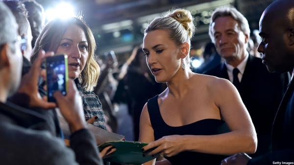 Kate Winslet on Technology: 'I Don't Own a Computer'