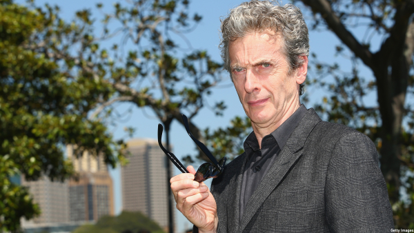 PICTURES: Peter Capaldi in Hobbiton