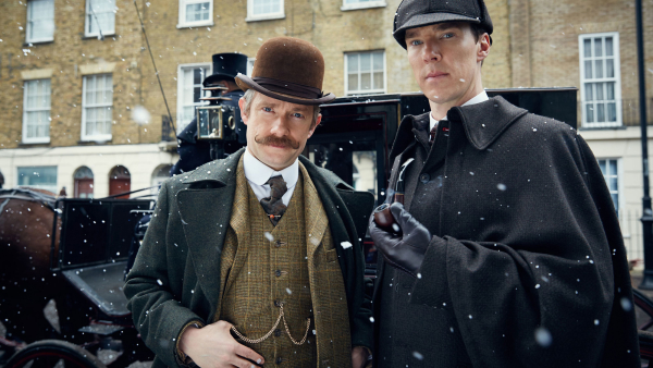 Cumberbatch on Victorian 'Sherlock': 'You Feel Some of the Weight Is Taken Off You'