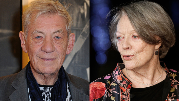 WATCH: Sir Ian McKellen Impersonates Dame Maggie Smith During Story