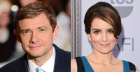 Martin Freeman and Tina Fey may or may not play love interests in 'Whiskey Tango Foxtrot.' (Paramount)