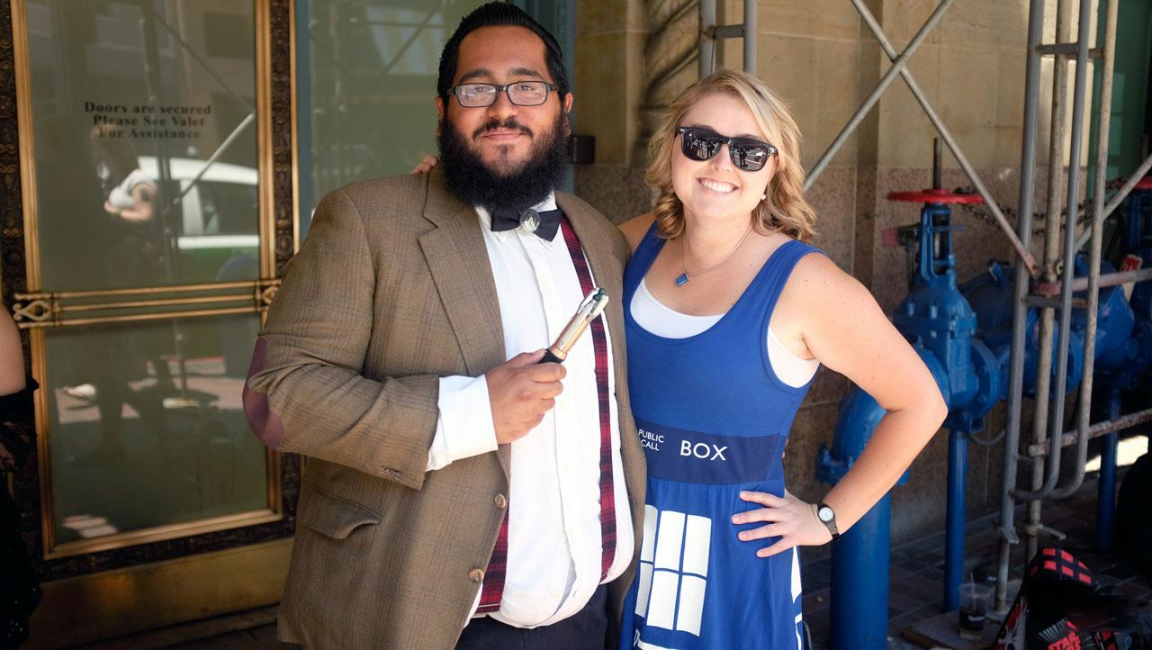 San Diego Comic-Con 2015: TARDIS Couture