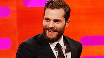 Jamie Dornan, The Graham Norton Show, 50 Shades of Grey