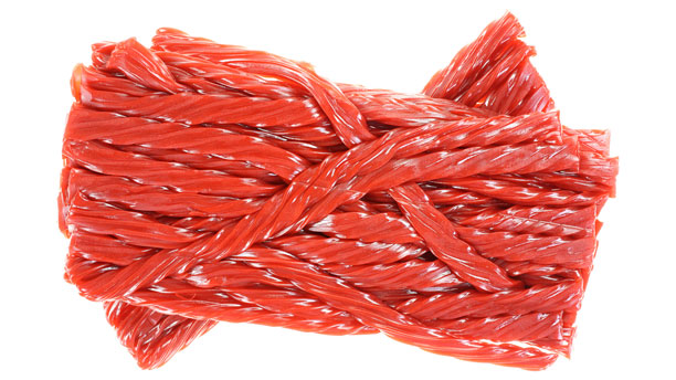 Is this cherry licorice... or cherry liquorice? (Photo: Fotolia)