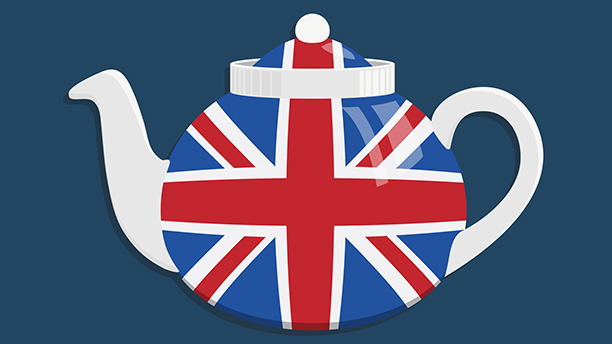 A Union Jack teapot might just be an essential purchase for a British expat in America. (Photo: Fotolia)
