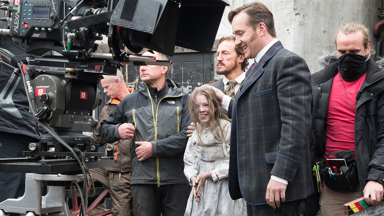 On Set With The 'Ripper Street' Cast