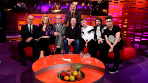 How Graham Norton Influence <i>The Hunger Games?</i>