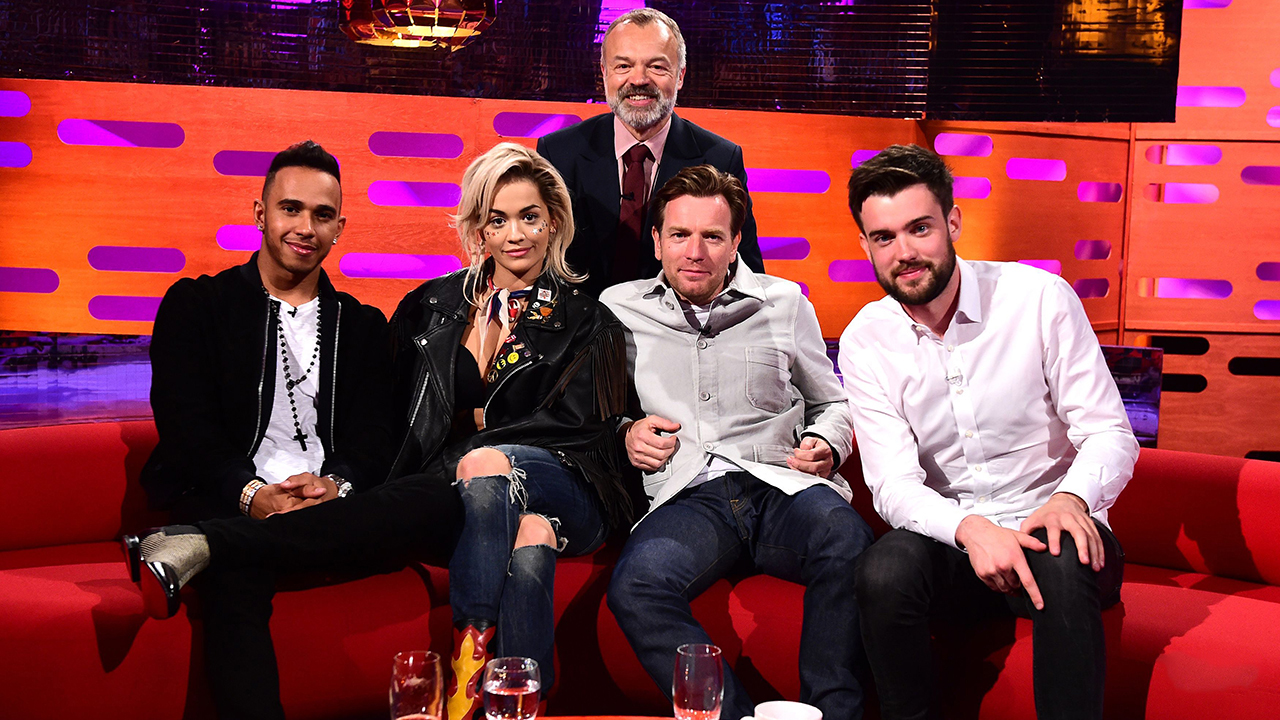 Photos: Ewan McGregor, Rita Ora, and Jack Whitehall