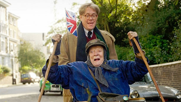 WATCH: Maggie Smith Roughing it in 'The Lady in the Van'