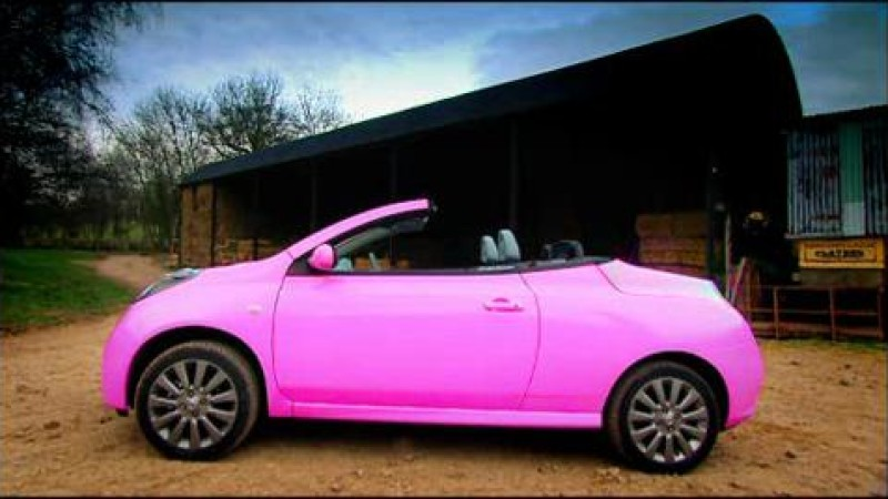 The convertible people carrier top gear bbc america for Nissan micra cc
