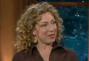 Alex Kingston craig ferguson