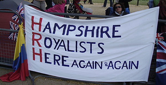 Hampshire Royalists here again and again