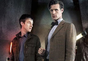 Arthur Darvill, Matt Smith from 'Doctor Who'