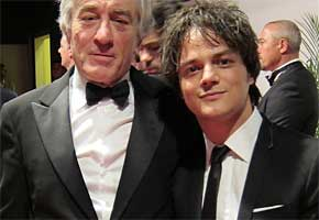 Robert de Niro and Jamie Cullum