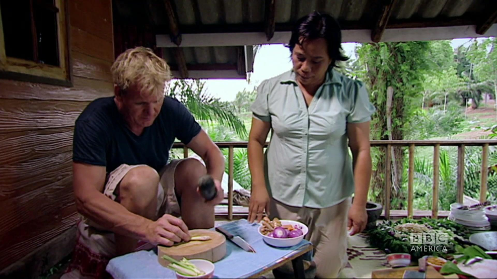Oysters in Thailand | Gordon Ramsay\'s Great Escape | BBC America
