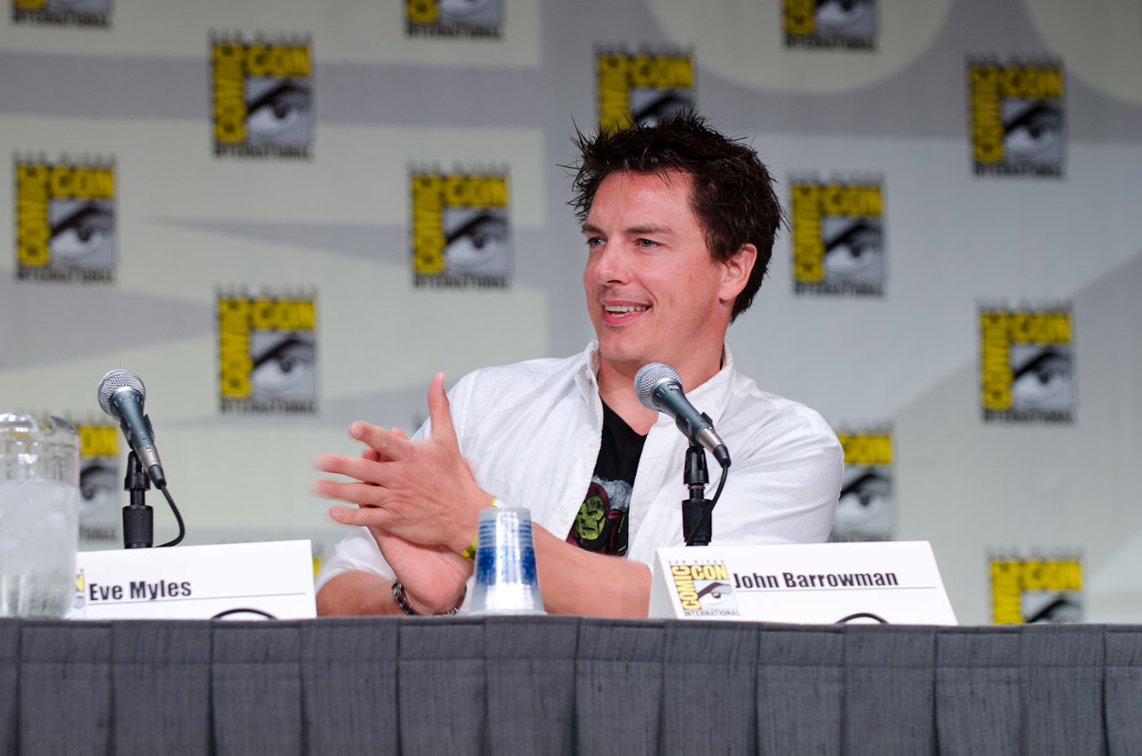 From Barrowman's lively antics at the Torchwood panel to a boutique's worth of TARDIS gowns, Day 2 of San Diego Comic-Con brought the party to the next level. Here are the best photos (by Dave Gustav Anderson).