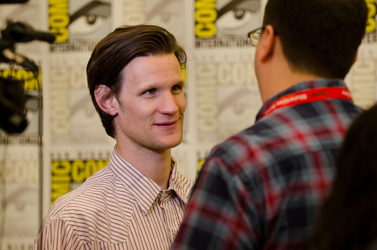 Matt Smith. Photo by Dave Gustav Anderson.