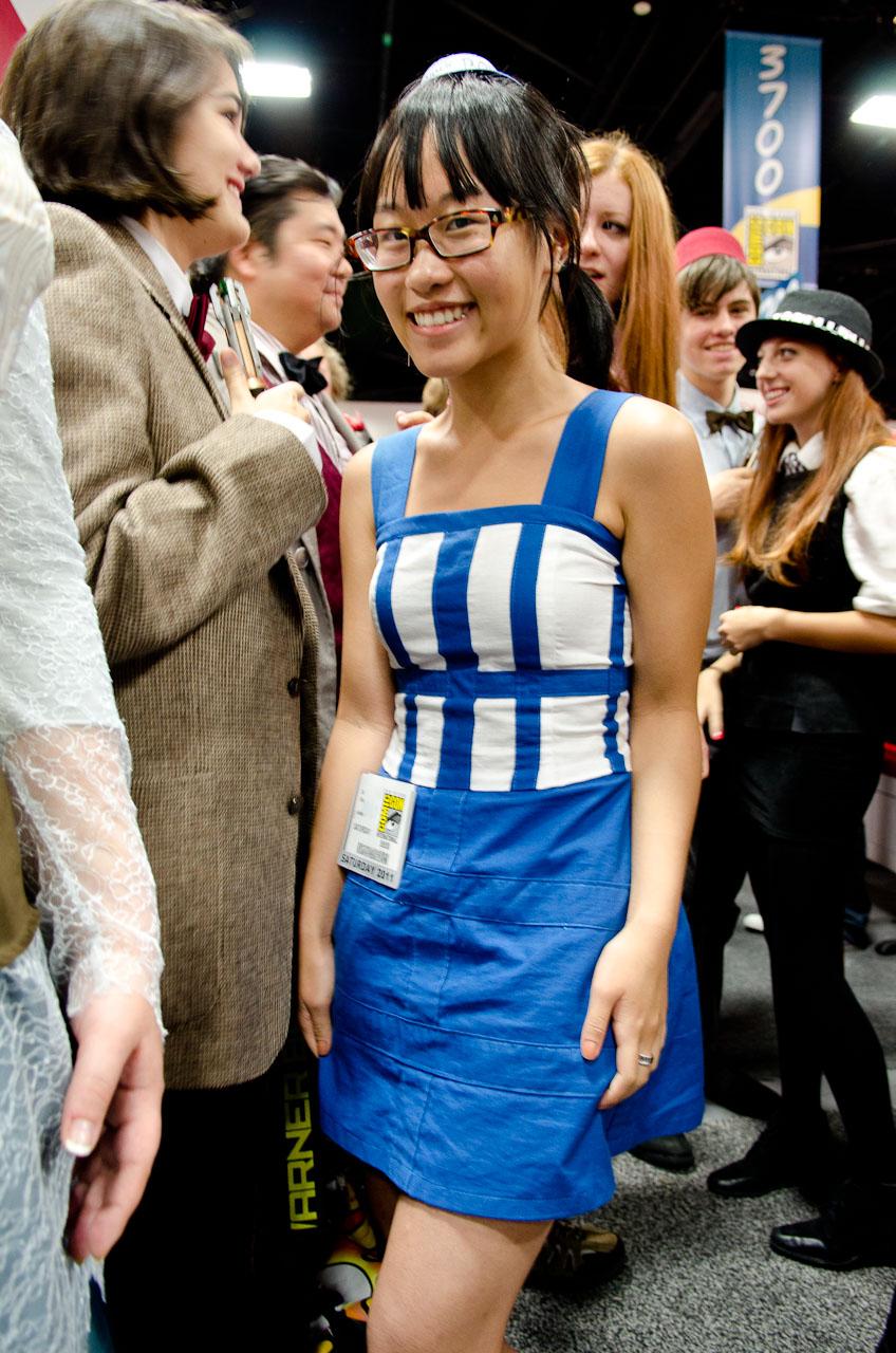 TARDIS couture.