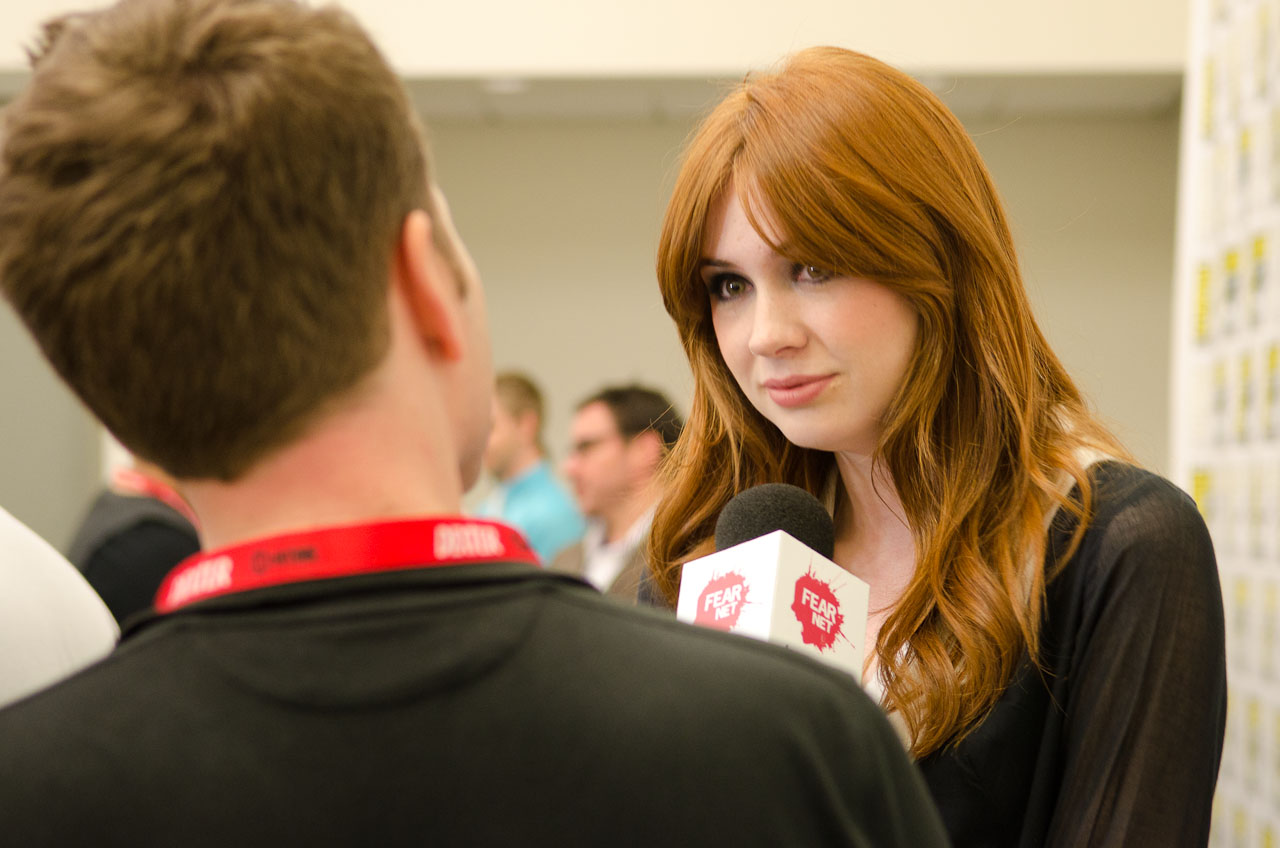 Karen Gillan. Photo by Dave Gustav Anderson.
