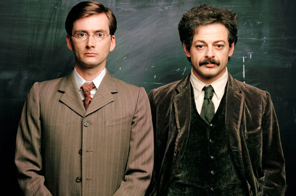 In this BBC drama set in the 1910s, Tennant played renowned British scientist Sir Arthur Stanley Eddington to Andy Serkis's Albert Einstein. Jim Broadbent, Rebecca Hall, Lucy Cohu, and Jodhi May rounded out this sterling cast. Watch the HBO trailer.