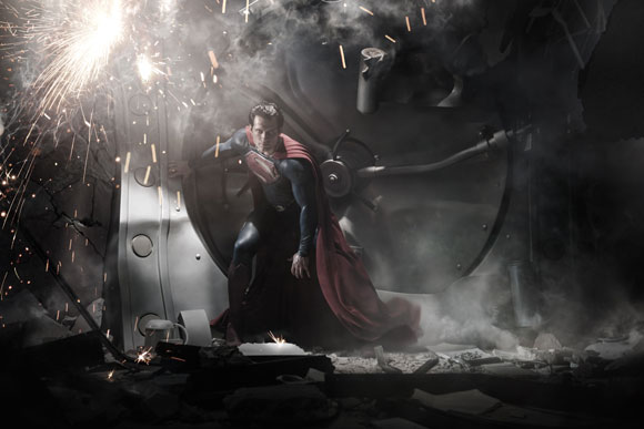 Henry Cavill as Superman. Photo: Warner Bros.