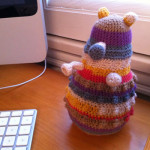 This adorable Brigadier Dalek is a @LadyPaxieAmor creation. Find out how she made it here.