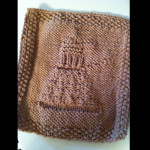 Dalek washcloth